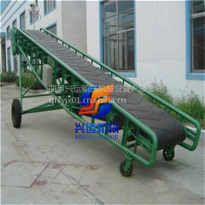 Z字形槽钢皮带输送机报价,格挡粉料皮带运送机,沧州无动力输送机型号