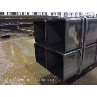 q345镀锌带方管出售价格