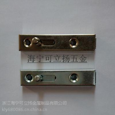 厂家直销橱门圆柄弹簧铁质插销