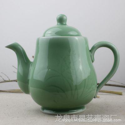 龙泉青瓷陶瓷茶具大号茶壶凉茶壶大容量泡茶壶陶瓷特价混批 礼品