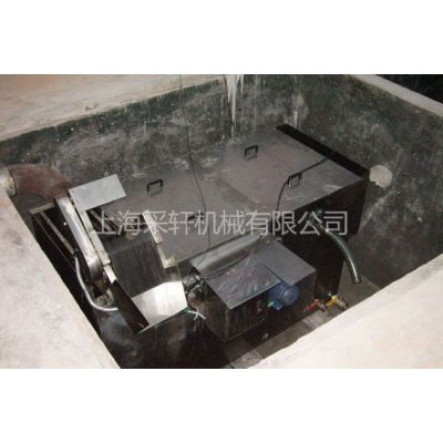 上海厂家供应埋地式餐饮油水分离器、不锈钢隔油池,全自动隔油器