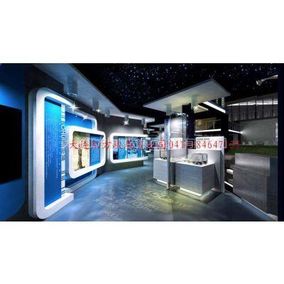 供应鄂尔多斯企业多媒体展厅建筑施工 科技成果展示厅制作图片