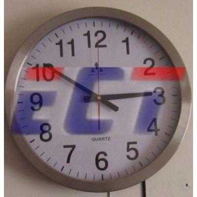 易彩通GPS卫星电子钟 钟数码时钟圆钟