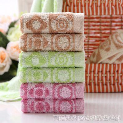 纯棉提花色线小童巾小巧玲珑厂家直销婴童喜爱生日节日精巧礼物