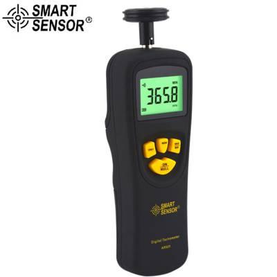 AR925 转速表 数显 接触式转速计 光电转速仪 非接触转速测速仪