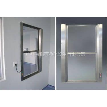 QS认证无菌室,科研室,净化室升降式传递窗,电动,气动风淋传递窗