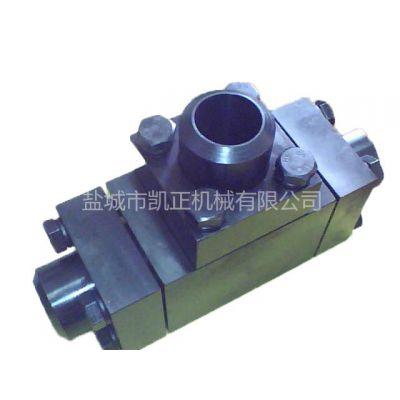 供应焊接式同径三通阀  法兰阀门  金属阀门