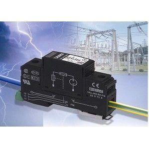 供应新型电压互感器二次接地保护器(过电压保护插件) F-MS25-PVT/FM