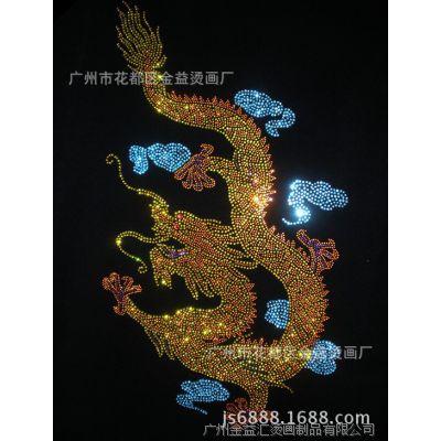 广州厂家直供新款时尚柯式烫画 植绒烫画 烫钻烫图 箱包烫画