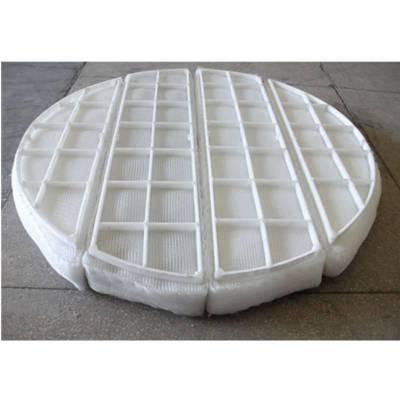 供应聚丙烯PP丝网除沫器耐酸碱 价格低 标准型 上装下装 安平上善