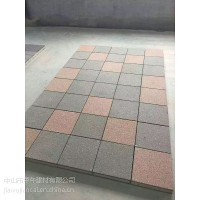 甲午建材供应各种规格的陶瓷透水砖和生态透水砖