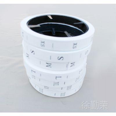 尺码标 衣服辅助材料  专用衣服尺码标