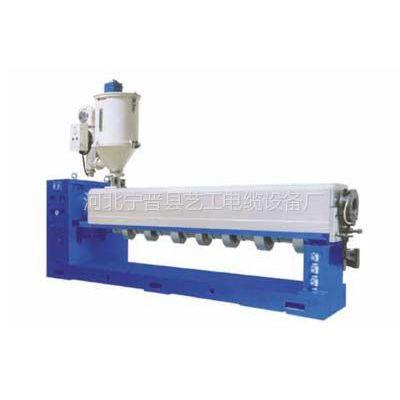 供应单螺杆塑料挤出机-绞丝机-挤塑机-河北挤塑机-电缆设备