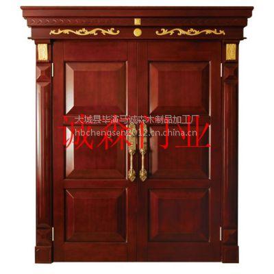 北京红木木门,红花梨花格,中式装修