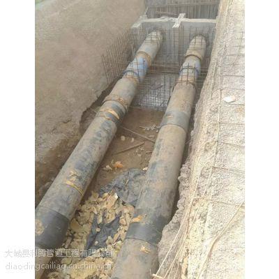 利腾承接泉州市顶管岩石层水磨钻顶管专项大型工程