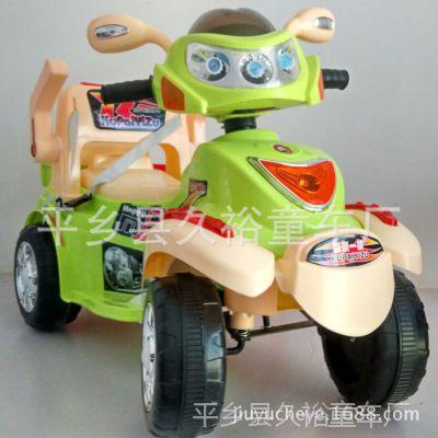 外星人遥控电动汽车四轮可坐玩具电瓶车六色可选带护栏靠背安全带