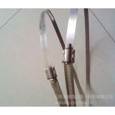 供应厂家热销电力标牌专用不锈钢扎带/抱箍/喉箍-厂家直销品种齐全