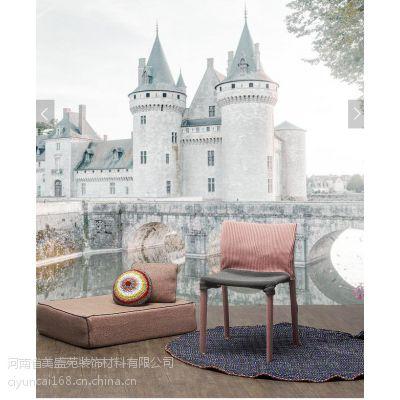 广西桂州市羙盛苑拼花玉雕背景墙、3D地板砖厂家直销