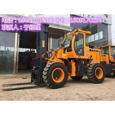 建筑工地专用3吨举升4米越野叉车厂家定做价格优惠