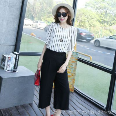 韩国东大门代购女装 两件套装淘宝一件代销 微信网店代理女装代发