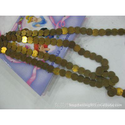 供应服装辅料五金配件手工链条/铜链/腰链  环保,足米