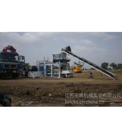 供应墙体砖制造生产设备-混凝土空心砖制造机械(QT4-25)