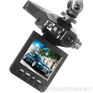 行车记录仪厂家直销6灯新款高清行车记录仪HD198优质汽车黑匣子