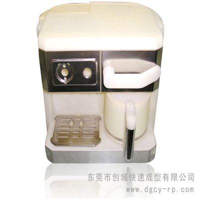 东莞专业家电手板厂供应CNC加工美式咖啡机模型