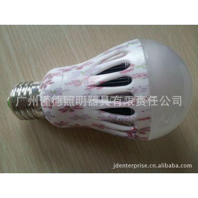 谨德企业 供应优质节能LED5w球泡灯 LED石墨球泡灯 高亮度长寿命