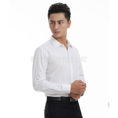 供应深圳市美盛好服装专注于制服。工作服的设计与制作男商务衬衫