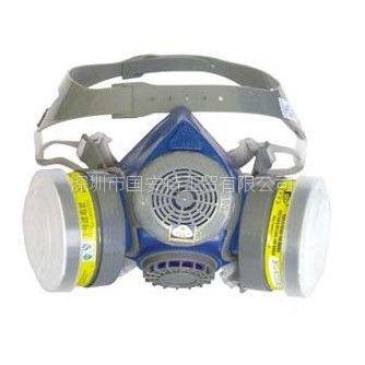 供应思创ST-M60X-1B橡胶双罐防毒面具 半面罩价格 广西防毒面具