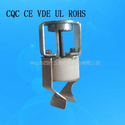 MR16灯座 石英灯座G5.3灯座 认证陶瓷灯座 卤素灯座