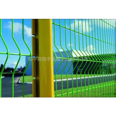 1.8米三角折弯铁路护栏、高速公路护栏网,美观实用
