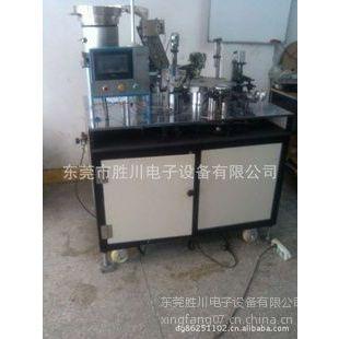 供应供应SC-270全自动二极管穿热缩管 电子元件成型机
