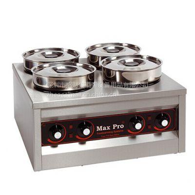 供应麦士宝牌 MAX PRO 921.454四头圆型保温汤炉\巧克力熔炉
