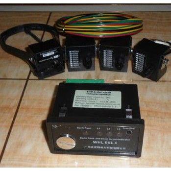 供应面板式线路故障指示器 面板式短路接地2合1型指示器