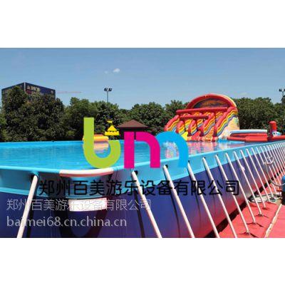 山西太原新款大型支架水池游泳游玩一应俱全