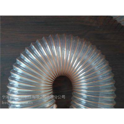 木屑吸尘管百盛塑胶供应pu耐磨钢丝管防静电铜丝管