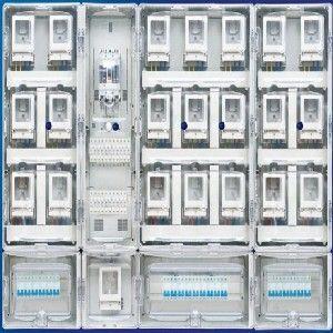 供应乐清【优质】透明塑料电表箱浙江信一电力
