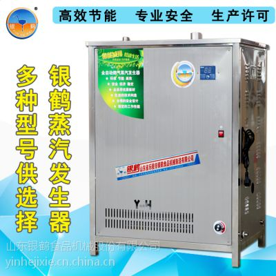 乐陵节能锅炉厂家 供应银鹤燃气蒸汽发生器YH-70 液化气天然气锅炉 商用不锈钢蒸汽机