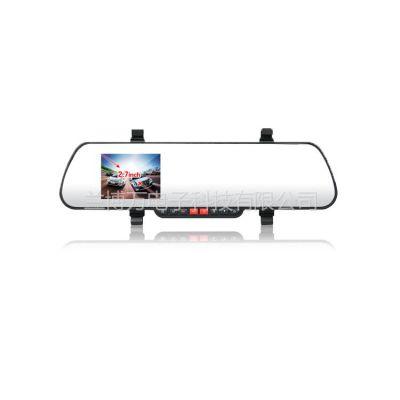 供应2.7寸F600黑匣子|后视镜DVR行车记录仪广角162度