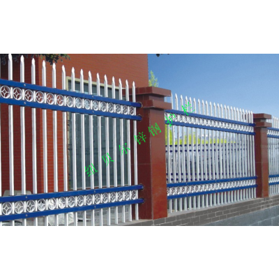 栏杆围墙 比砖砌围墙好 纽贝尔铁艺栏杆