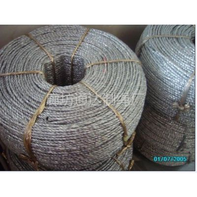 供应产品原料为聚脂膜电化铝,比普通塑料绳,撕裂膜的寿命高出几倍.该产品具有不怕水,不怕晒,拉力强,