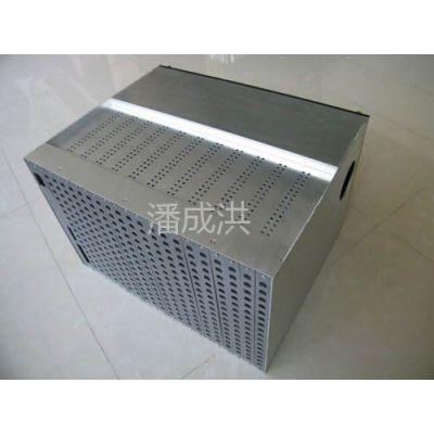 供应8U矩阵铝合金拉丝机箱(图)