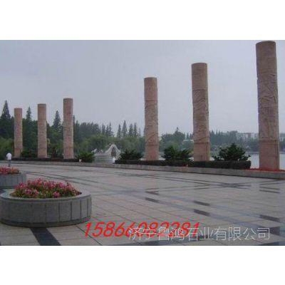 加工定制各种广场摆件石雕文化柱等造型独特的艺术品