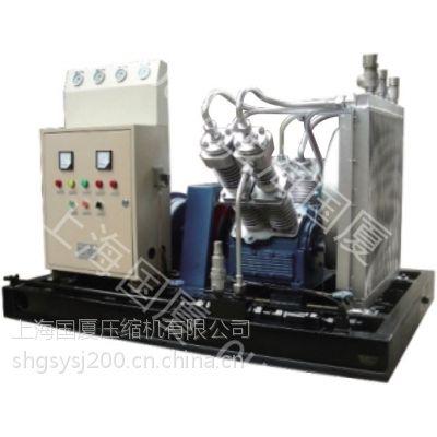 上海国厦260公斤(260bar)试压功率30千瓦 排气量 1.5立方米压力26空气压缩机