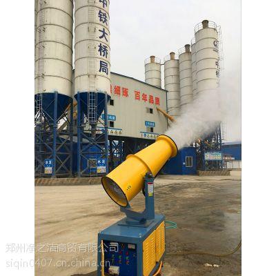 供应周口市建筑工地用降尘装置现场工作情况 诺瑞捷环保