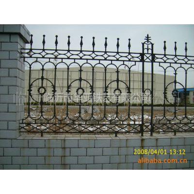 供应厂家定做铸铁栅栏 铁艺护栏 铸铁围墙 铁艺围墙