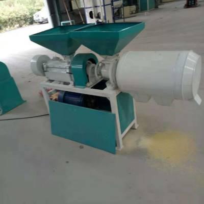 惠民牌箱式玉米制糁机 单相电制糁机价格 新款玉米磨粉机图片