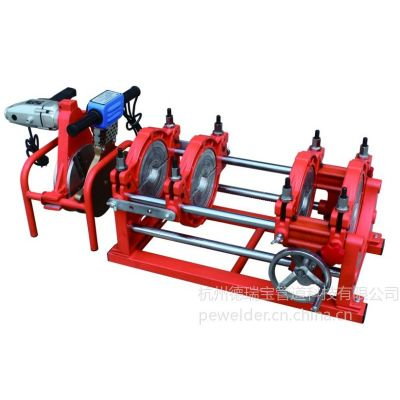 供应全齿轮驱动国内PE管手摇热熔对焊机